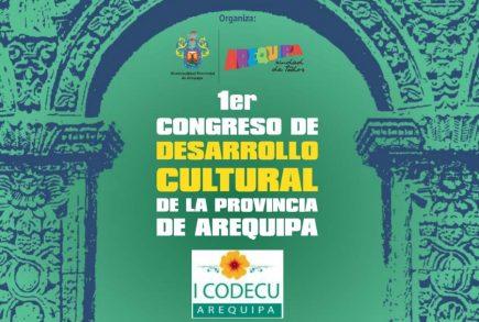 Arequipa: Congreso planteará Plan de Desarrollo Cultural para el 2030