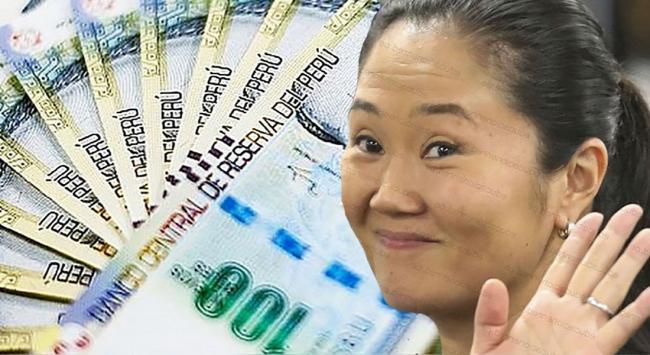 dinero y Keiko Fujimori