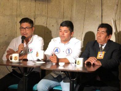 Café Electoral: candidatos de Juntos por el Perú, Alianza para el Progreso y Unión por el Perú