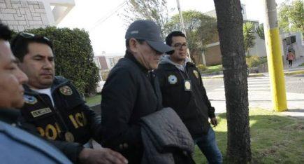 Arequipa: Policía detiene a jefe de Trabajo del INPE por presunto cobro de sobornos