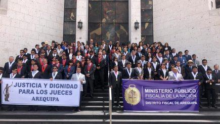 """Arequipa: Dos jueces denunciados ante Odecma por """"huelga blanca"""""""