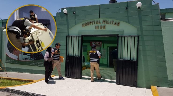 Empresas entregaron a Ejército equipos usados que iban a ser usados en hospital militar de Arequipa