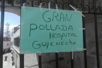 LoMásVisto2019: Pollada realizada por médicos del hospital Goyeneche