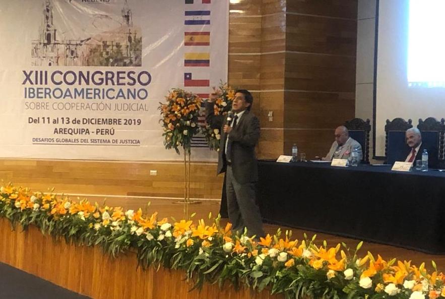 Juez Richard Concepción Carhuancho en Arequipa