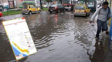 Arequipa: Senamhi pronostica lluvias nivel 4 hasta el sábado 21