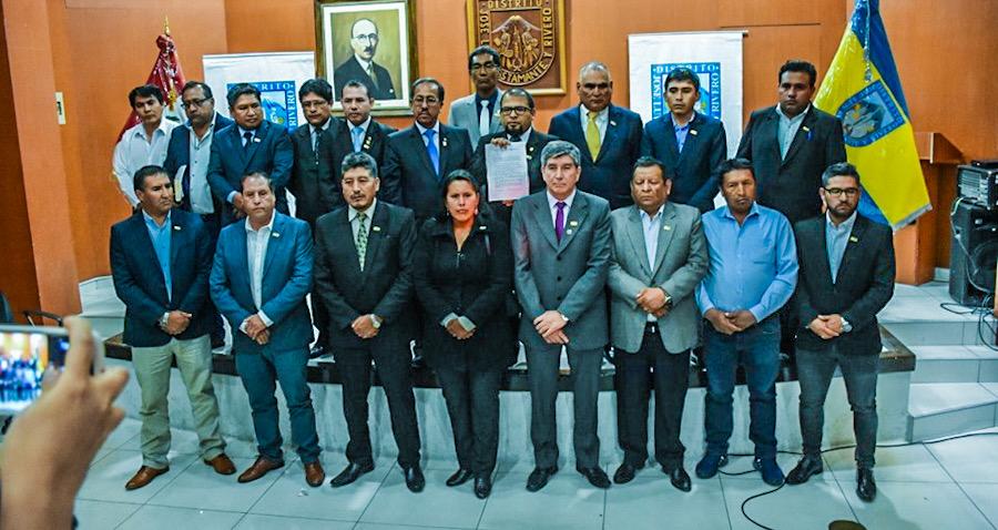 Alcaldes de arequipa 2019