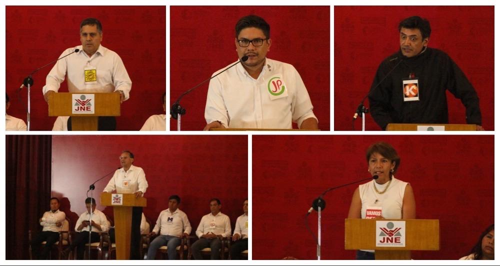 Arequipa elecciones 2020 candidatos congreso debate jne