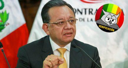 Edgar Alarcón dice lo sacaron de Contraloría por enfrentar corrupción, ¿es cierto?
