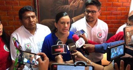 Verónika Mendoza: algunos corruptos quieren llegar al Congreso para blindarse