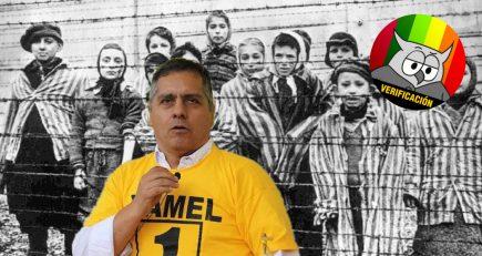 #AveDePresa Yamel Romero cuestiona veracidad de Holocausto y queda en ridículo
