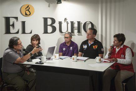Café Electoral: candidatos del Partido Morado, Unión por el Perú y Acción Popular