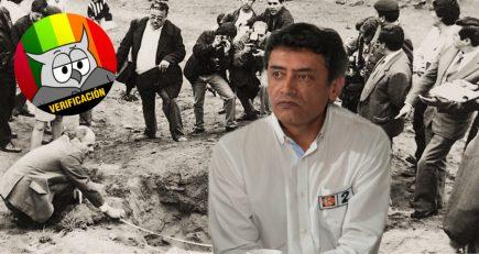Candidato fujimorista afirma que solo 10% de víctimas del conflicto interno murieron en los 90