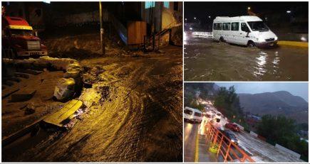 Lluvias en Arequipa: huayco en Uchumayo, inundaciones y aniegos en la ciudad