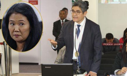 Keiko Fujimori: El 28 de enero juez dictará fallo sobre prisión preventiva
