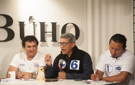 Café Electoral: candidatos de Somos Perú, Perú Nación y Frepap