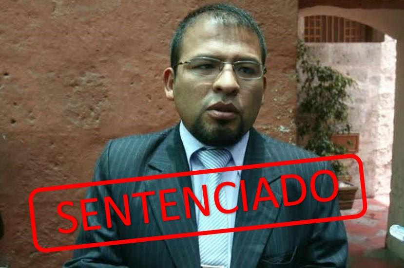 Alcalde Omar Candia recibió condena de 6 años por colusión agravada