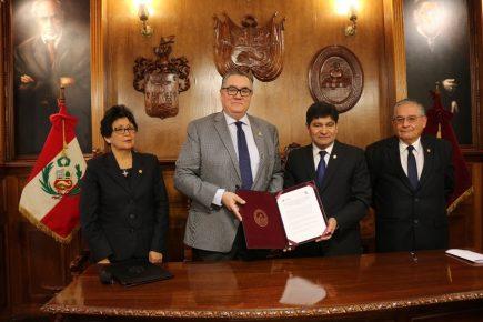 UNSA y Universidad de Oklahoma estudiarán cambio climático en Arequipa