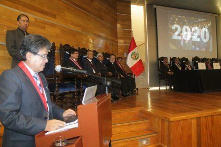 Huelga blanca: magistrados de Arequipa inician el Año Judicial con protestas