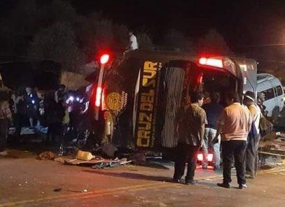 Sutran suspende autorización a Cruz del Sur para circular hacia Arequipa