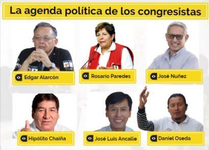 Arequipa: la agenda política que llevan los virtuales congresistas