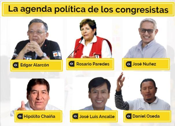 Congresistas por Arequipa y sus propuestas