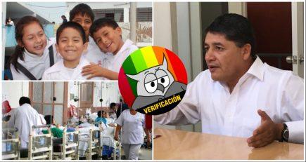 #AveDePresa: Víctor Hugo Rivera ofrece más dinero para Salud y Educación ¿podrá?