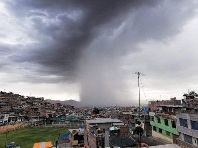 Arequipa soportó intensa lluvia que alcanzó 4 litros por m2