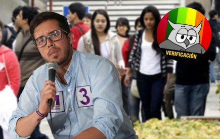 #AveDePresa Candidato Morado: desempleo egresados universidad es más del 50%