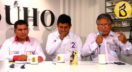 Café Electoral: candidatos de Perú Libre, Partido Morado y Avanza País