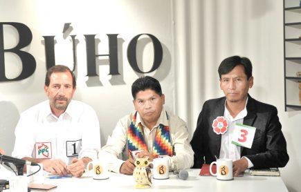 Café Electoral: candidatos de PPC, Renacimiento Unido y Frente Amplio