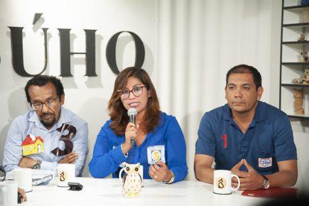 Café Electoral: candidatos de Democracia Directa, Patria Segura y Somos Perú