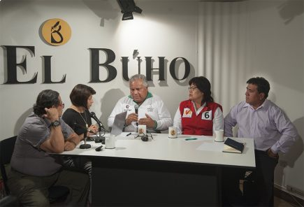 Café Electoral: candidatos de Contigo, Unión por el Perú y y Perú Nación