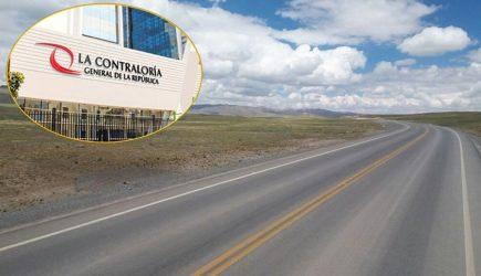 Contraloría: Perjuicio económico de 14 millones en carretera Imata – Negromayo