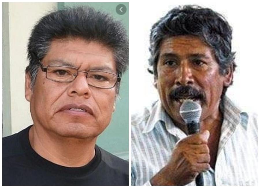 Tía María: dirigentes Miguel Meza Igme y Jesús Cornejo Reynoso