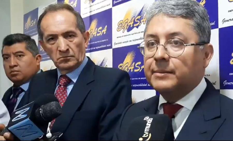 Funcionarios de Egasa fundamentaron que proyecto Charcani VII generará energía para Arequipa.