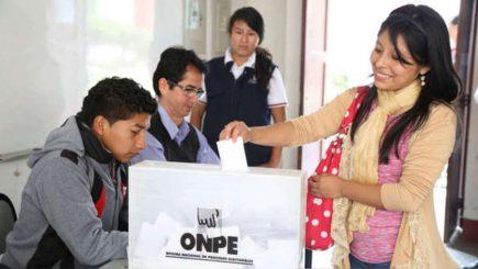 Elecciones 2020: JNE no aplicará valla electoral a partidos el domingo 26