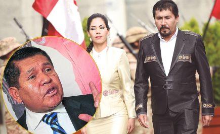 Vicegobernador se disculpa con esposa de Cáceres Llica por supuesto video
