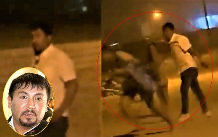 Arequipa: Acusan a Cáceres Llica de agresión, esposa lo niega (VIDEO)