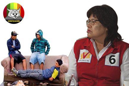 #AveDePresa: candidata Ana Guillén dice 40% de jóvenes ni trabaja ni estudia, ¿es cierto?