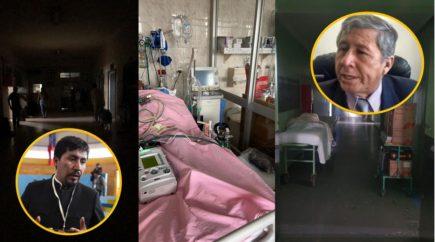 Tras apagón, hospital Honorio Delgado alquilará generador de energía