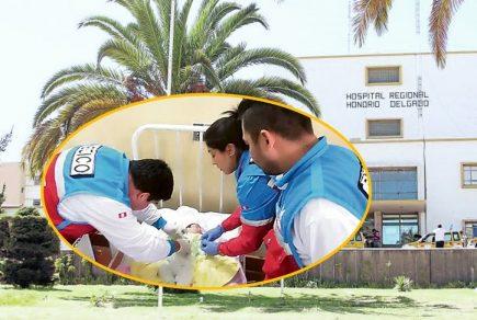 Arequipa: Madre denuncia ante fiscalía negligencia en Hospital Honorio Delgado