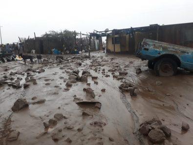 Arequipa: ingreso de huaico deja tres mineros atrapados en Yauca y afecta Acarí (fotos y video)