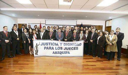Huelga blanca:  jueces de las Cortes del Perú realizarán marcha nacional este lunes