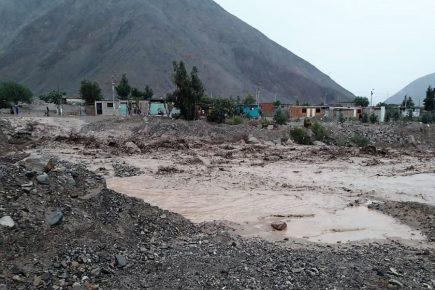Temporada de lluvias: 20 distritos de Arequipa presentan riesgo alto