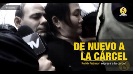 Keiko Fujimori: de vuelta a prisión