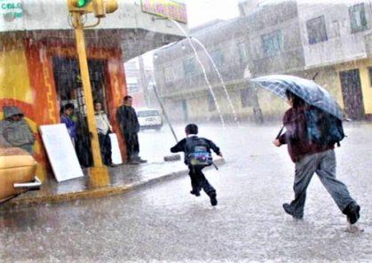 Senamhi emite alerta 4 por precipitaciones hasta el miércoles en la sierra