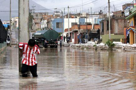 Arequipa: Defensa Civil en alerta permanente por temporada de lluvias