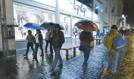 Senamhi pronostica lluvias en Arequipa y sierra sur del país hasta el viernes 17