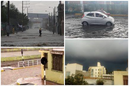 Arequipa: Intensa lluvia en distritos causa estragos (FOTOS Y VIDEO)