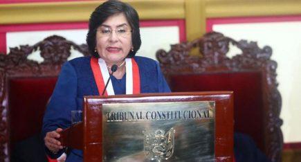 Marianella Ledesma: la primera mujer que preside el Tribunal Constitucional